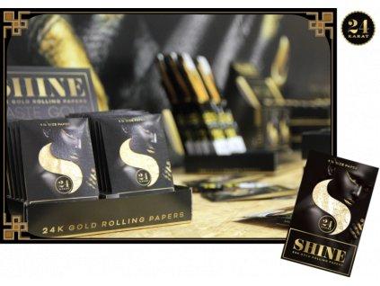 Shine 24k One Sheet Pack.