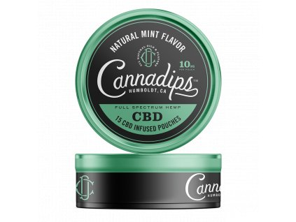 Cannadips Natural Mint Flavors