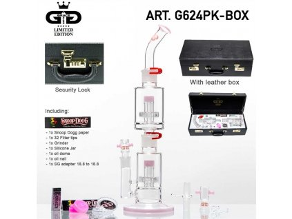 GG Limited Edition Multipart Super-Saxo Bong - Pink-