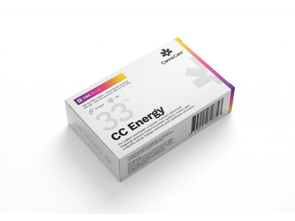 Konopné kapsle od CannaCare s 990 mg CBG v balení po 30 kapslích