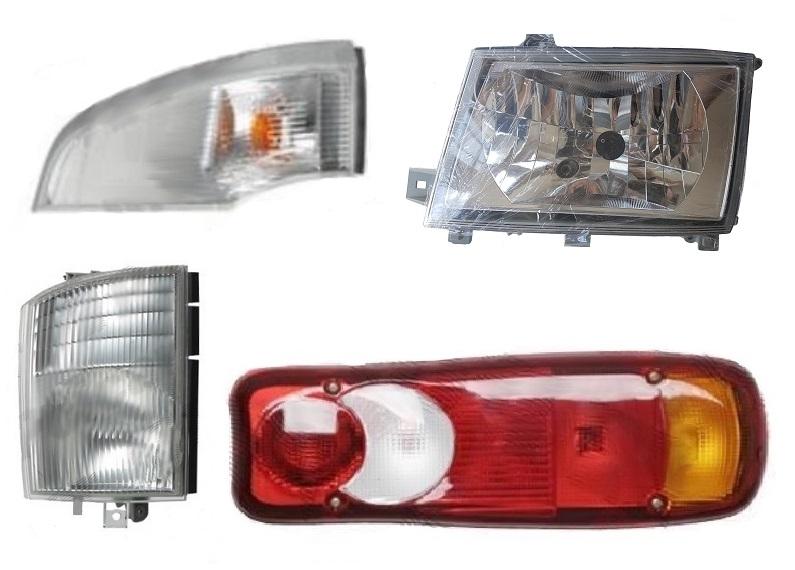 karoserie a osvětlení