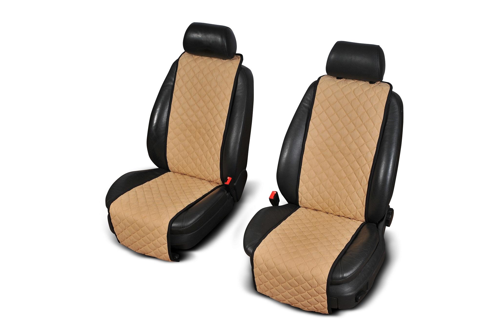 Autopotahy Cantra - Standardní. 2x autopotahy na přední sedadla Barva: Černá s červeným prošíváním