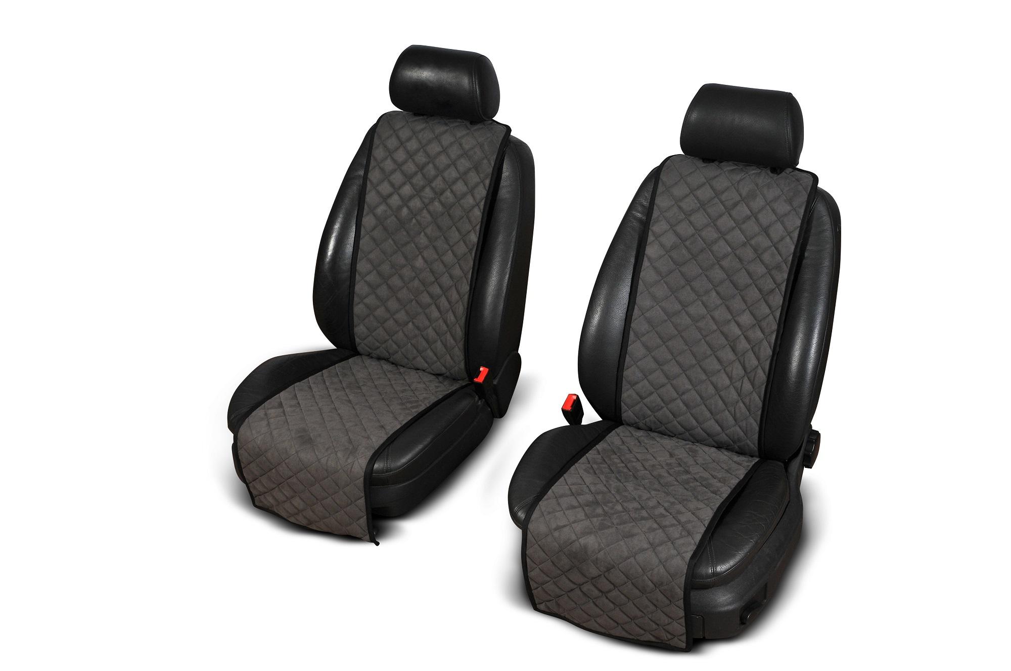 Autopotahy Cantra - Standardní. 2x autopotahy na přední sedadla Barva: Černá s modrým prošíváním