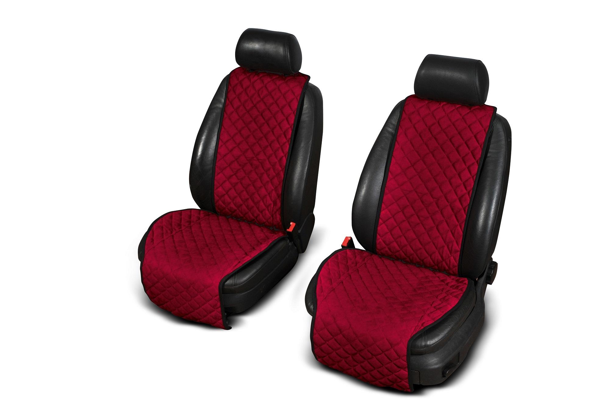 Autopotahy Cantra - ŠIROKÉ. 2x autopotahy na přední sedadla Barva: Černá se zlatým prošíváním