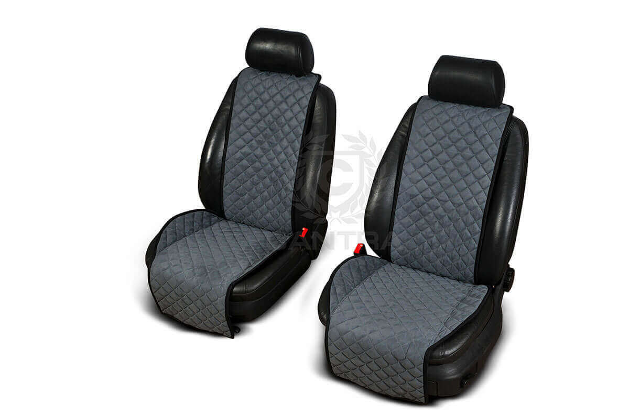 Autopotahy Cantra - ŠIROKÉ. 2x autopotahy na přední sedadla Barva: Světle šedá