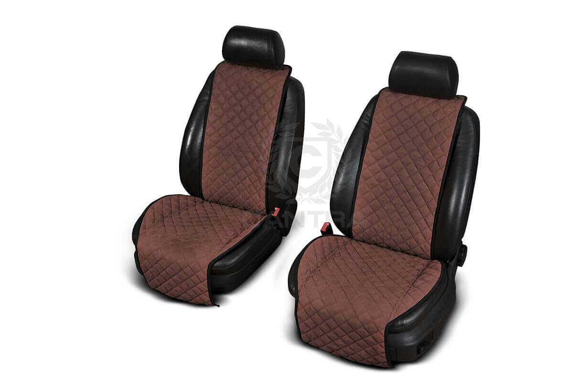 Autopotahy Cantra - ŠIROKÉ. 2x autopotahy na přední sedadla Barva: Tmavě hnědá