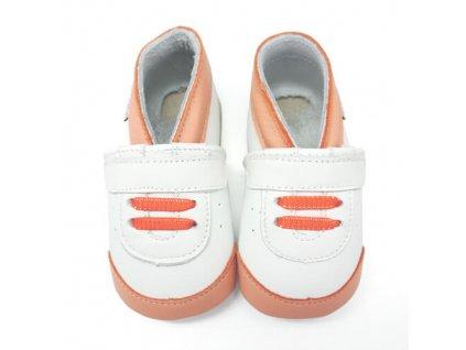 Sneakers oranžové LAIT ET MIEL 02