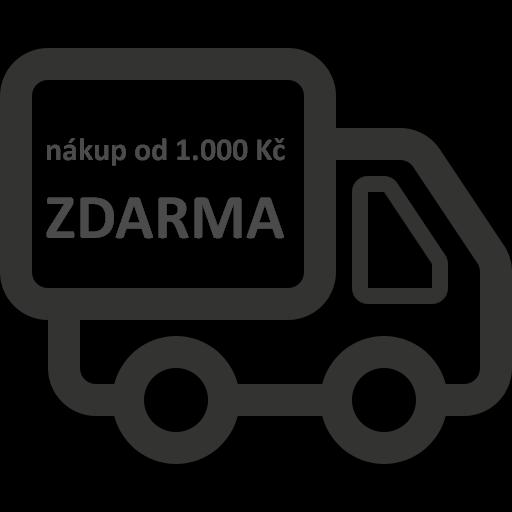 Doprava od 1.000 Kč zdarma