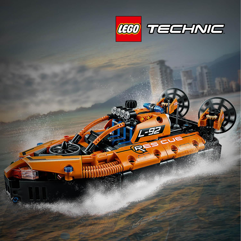 Záchranné vznášedlo od LEGO® Technic