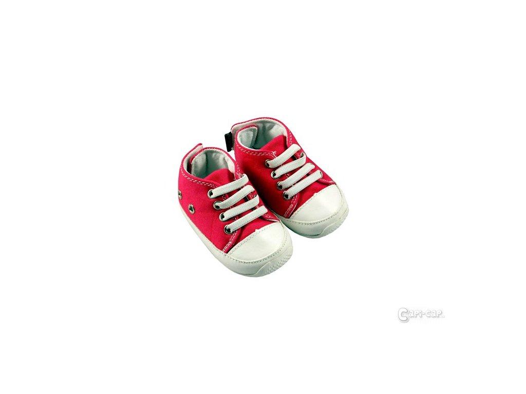 MiniFeet dětské tenisky tmavě růžové - Capi-cap.cz 0e0eebaba0