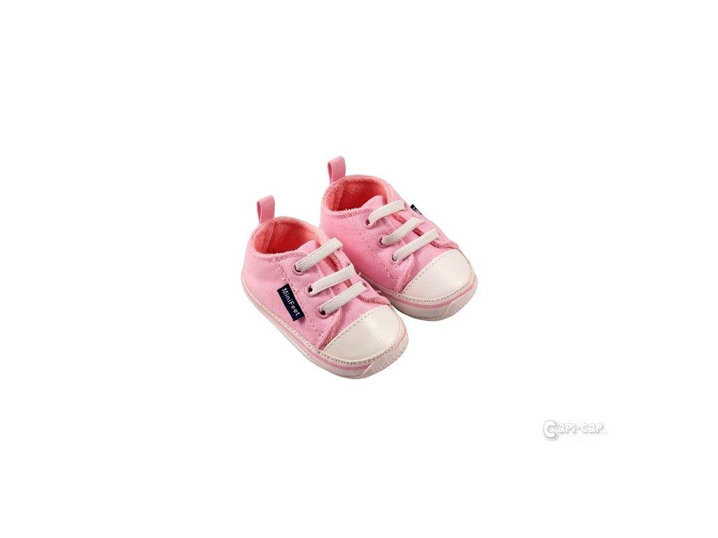 MiniFeet dětské tenisky růžové - Capi-cap.cz 66f75e94a6