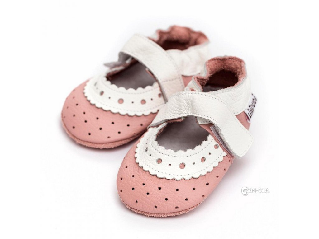 0c18e323a8 LLPT845 capacky liliputi sandalky liliputi baby rose kozene capacky boty  pro deti backurky