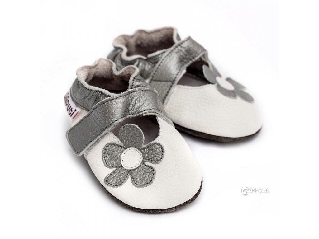 3c0c9d8d69a LLPT846 capacky liliputi sandalky liliputi ice flower kozene capacky boty  pro deti backurky