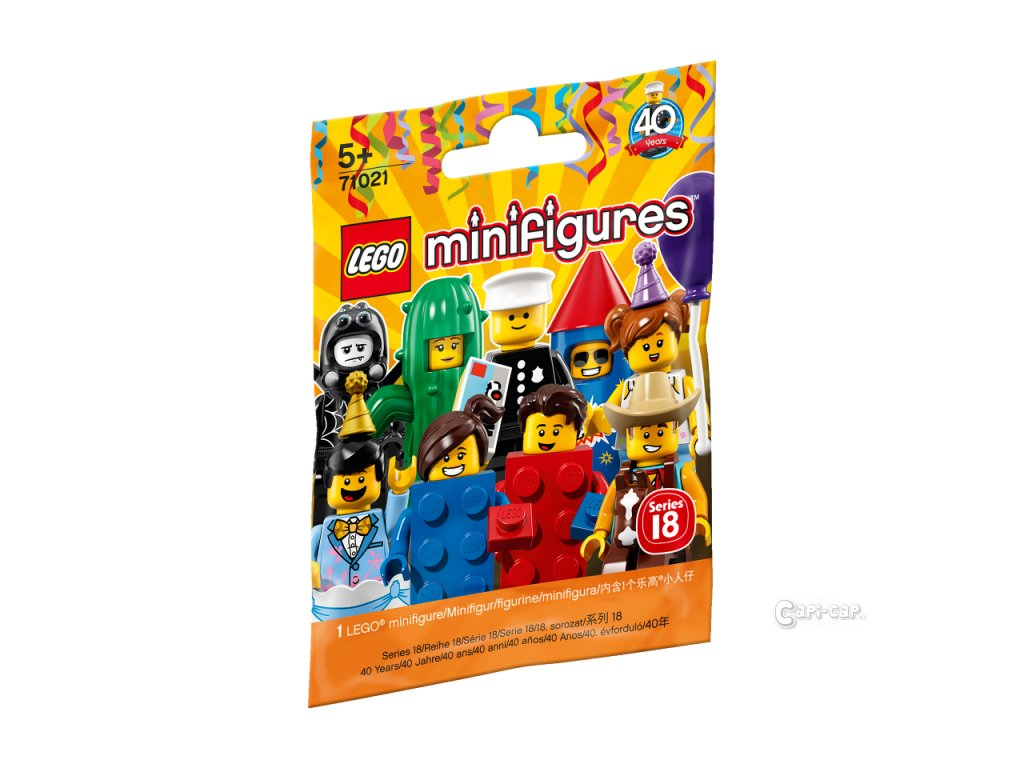 LEGO Minifigurky 71021 Minifigurky 18. série: Párty