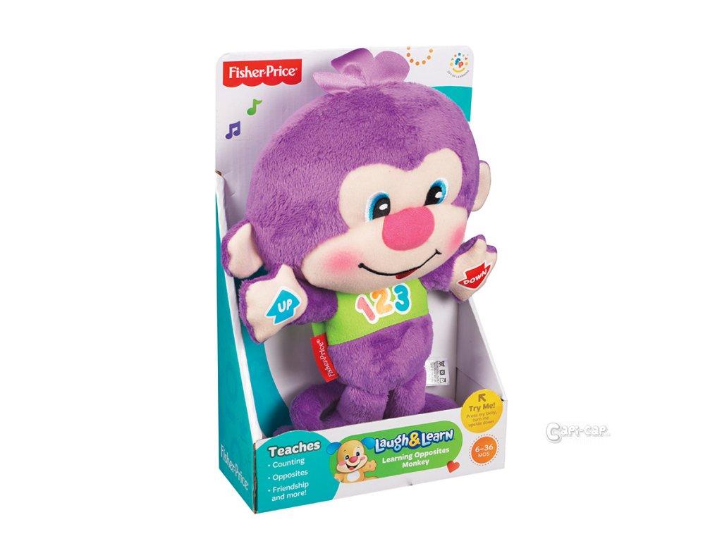 Fisher-Price Chytrá mluvící opička