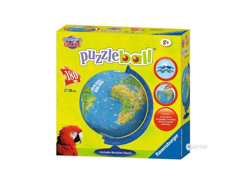 Puzzleball Globus Mapa Sveta 180d Ravensburger Capi Cap Cz