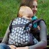 Liliputi ergonomické nosítko Lebky šedé