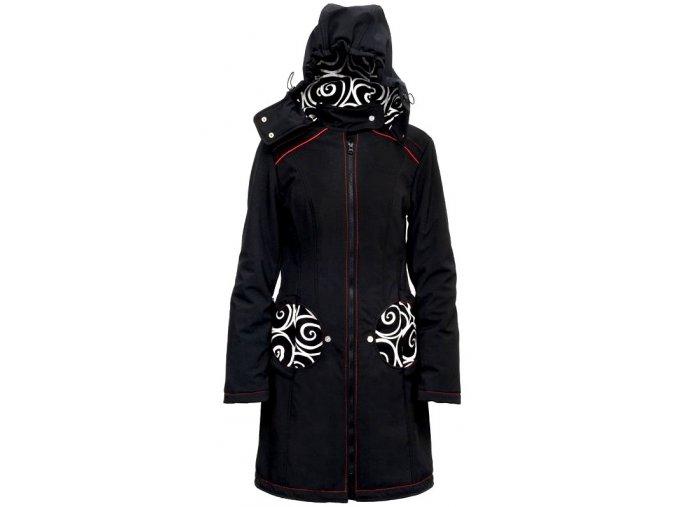 Liliputi kabát na nošení dětí Elegance černý
