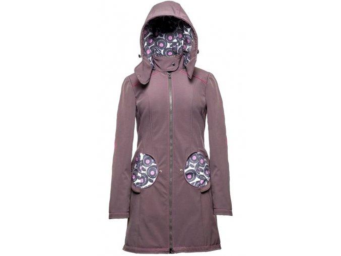 Liliputi kabát 3v1 na nošení dětí Pivoňka šedý