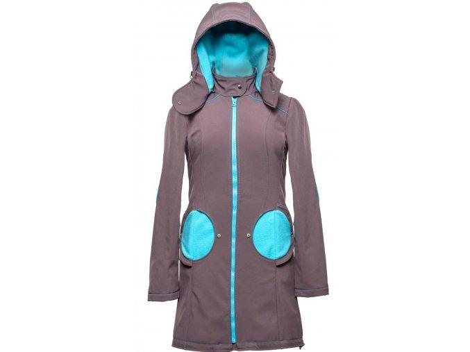 Liliputi kabát 3v1 na nošení dětí šedý
