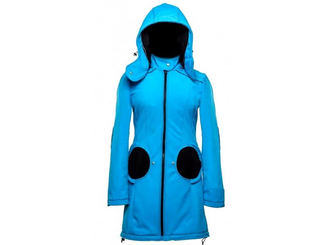 Liliputi kabát na nošení dětí modrý
