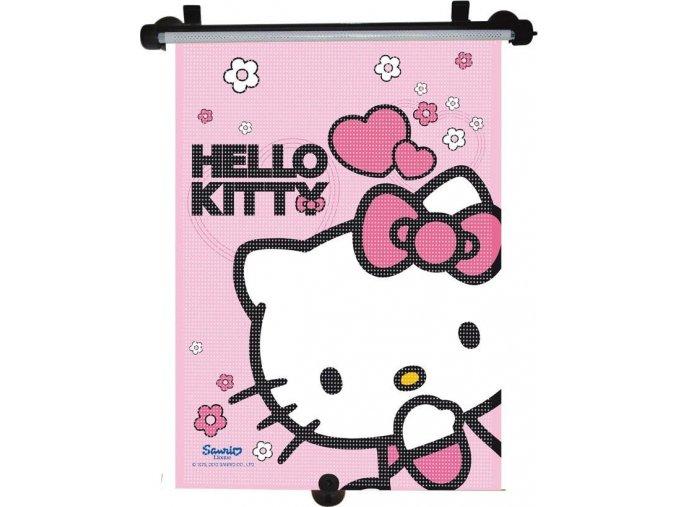 Stínítko na okno auta stahující 1 ks Hello Kitty