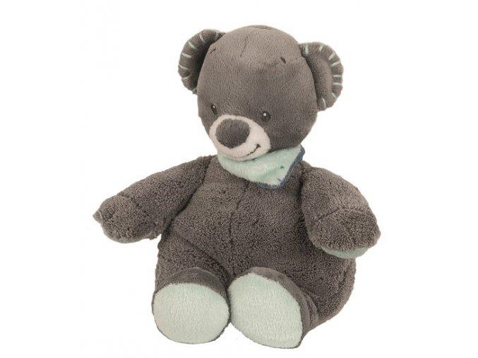 Hračka plyšová chrastící medvídek Jules 18cm JJN