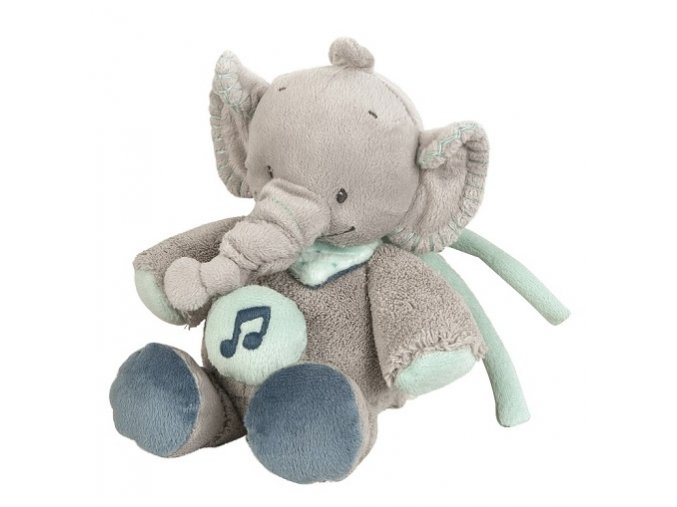 Hračka plyšová hudební sloník Jack JJN