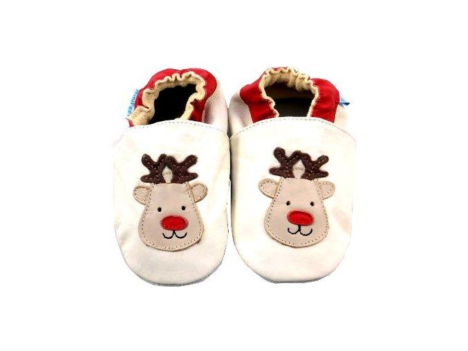 MiniFeet capáčky sobík Rudolph béžové