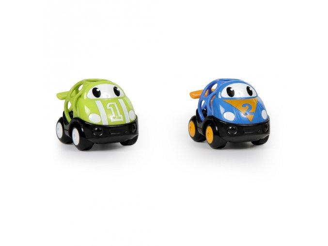 Hračka autíčko závodní Herbie a Tom Oball Go Grippers 18m+, 2ks