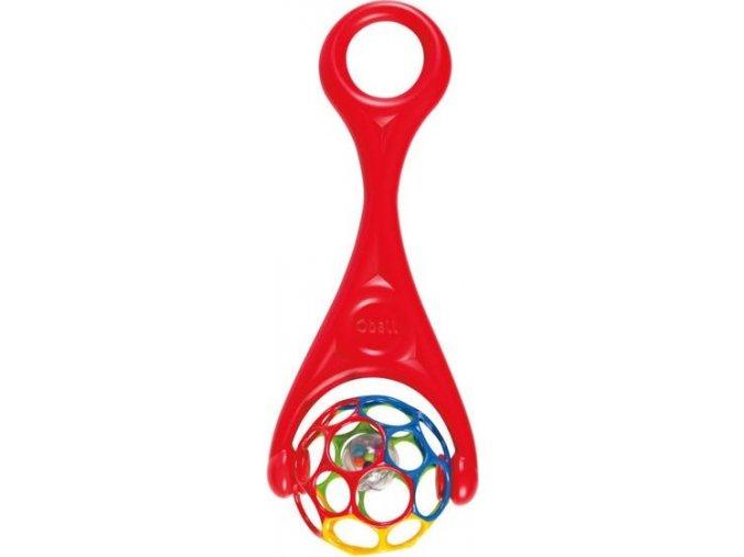 Hračka OBALL ROLLER 6m+, červená