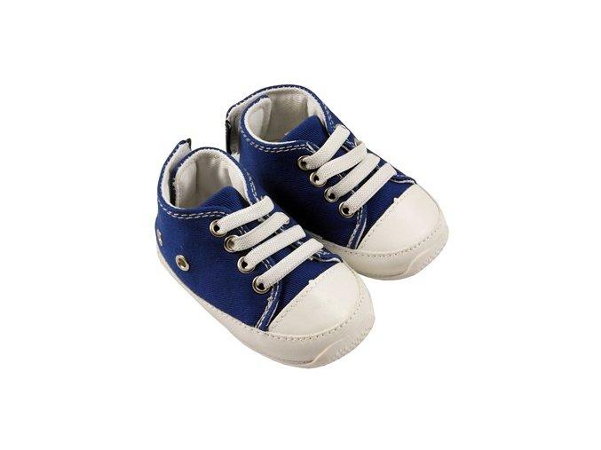 MiniFeet dětské tenisky tmavě modré
