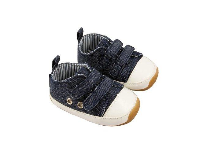 MiniFeet dětské tenisky džínové modré