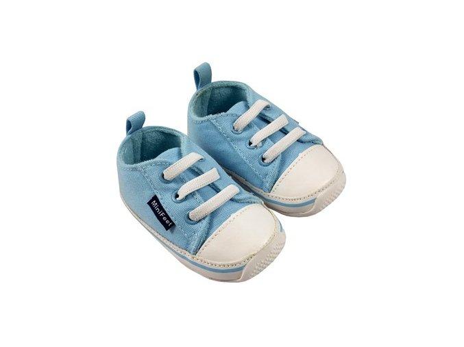 MiniFeet dětské tenisky modré