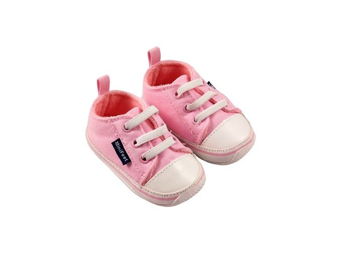 MiniFeet dětské tenisky růžové