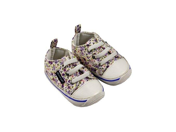 MiniFeet dětské tenisky fialové