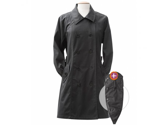 trenchcoat for babywearing