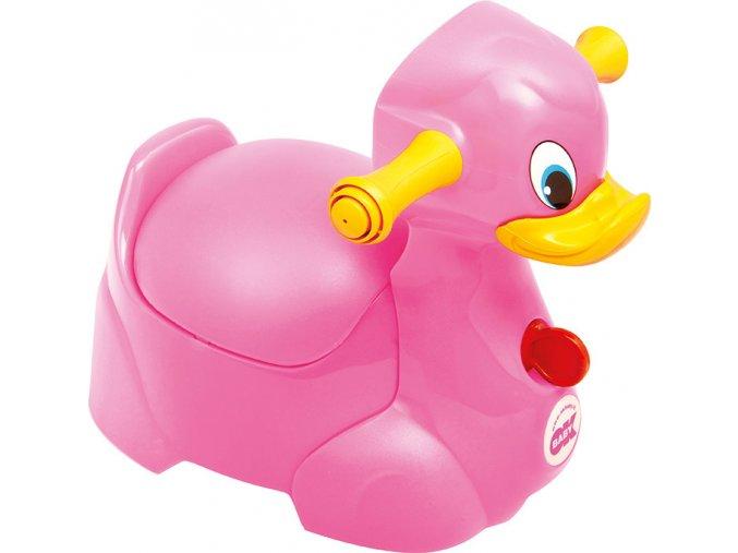 Nočník Quack ružová 66
