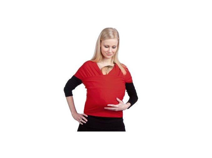 Liliputi elastický šátek červený