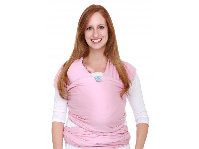 Moby Wrap elastický šátek original růžový