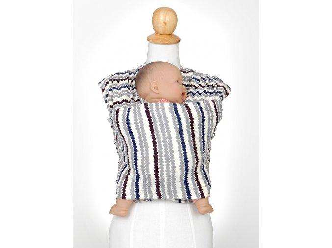 moby wrap by lotta elasticky satek moby by lotta sede prouzky noseni deti