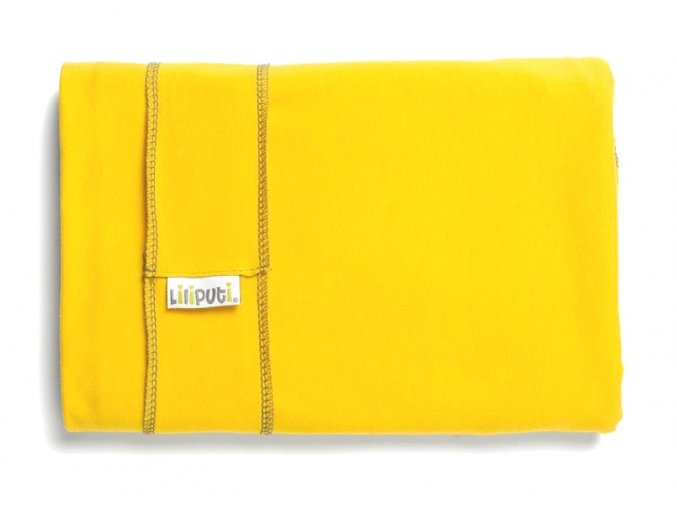 Liliputi elastický šátek žlutý