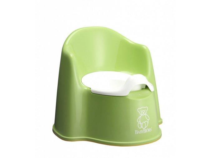 BabyBjörn Nočník křesílko Spring Green zelený