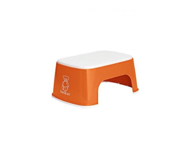 BabyBjörn Stupátko Safe step Orange oranžový