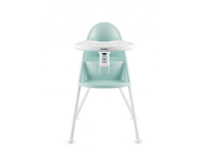 Židle vysoká BabyBjörn s pultíkem Light Green