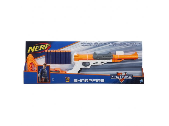 NERF Elite Sharpfire 6 v 1