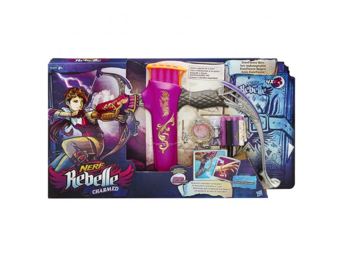 NERF Rebelle charmed everfierce luk