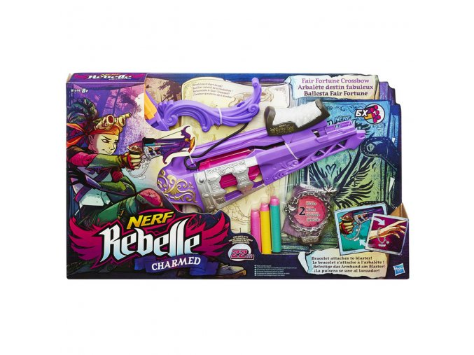 NERF Rebelle charmed fair fortune crssbow