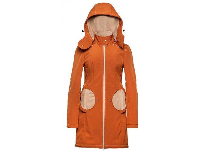 Liliputi kabát na nošení dětí Rusty cihlový