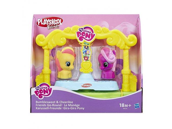my little pony kolotoc bumblesweet cheerilee konicci na kolotoci playskool